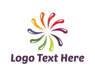 Eclectic - Rainbow Star logo design