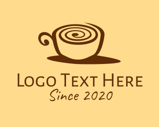 Snail Coffee Cup  Logo