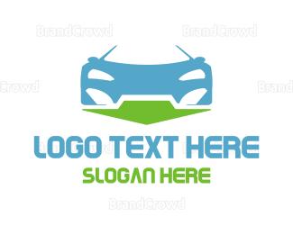 Car Rental - Auto Direction logo design