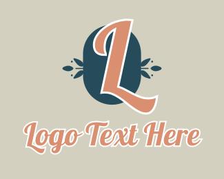 Spa - Natural Spa Letter logo design