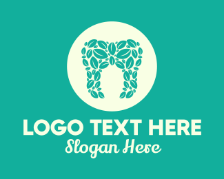 Dental - Organic Dental Health logo design