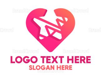 Store - Cute Star Heart logo design