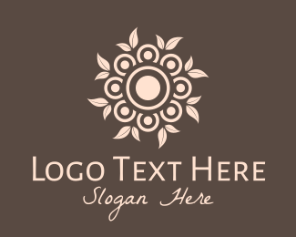 Ornamental - Ornamental Garden Wreath logo design