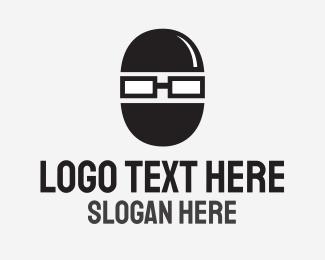 Geek Ninja Thief logo design