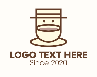 Coffee Farmer - Coffee Cup Barista logo design