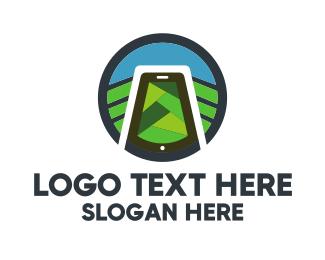 Vegetable - Nature & Smartphone logo design