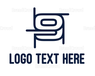 Draft - Draft Number 9 logo design
