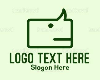 Social - Rhino Chat logo design