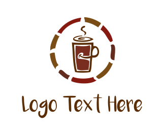 To Go - Coffe Mug logo design