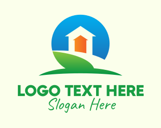 Up - Home Property Increase logo design