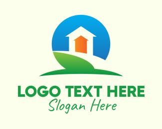 Upward - Home Property Increase logo design