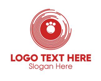 Paw - Paw Disc logo design
