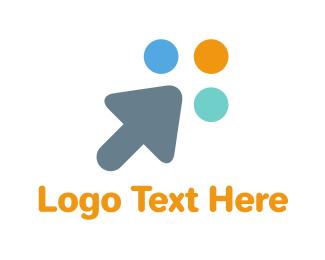 It Company - Cute Cursor logo design