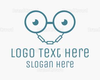 Chain - Handcuff Geek logo design