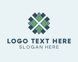 Next - Arrow Pattern logo design