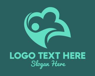 Happiness - Human Cloud  logo design