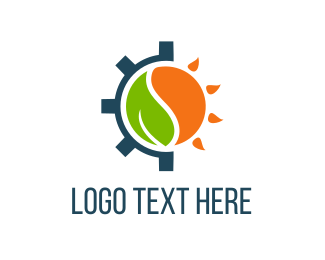 Renewable - Eco Gear logo design