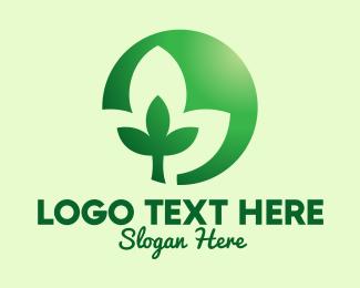 Massage - Herbal Massage Yoga logo design