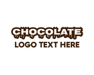 Chocolate - Melting Chocolate logo design