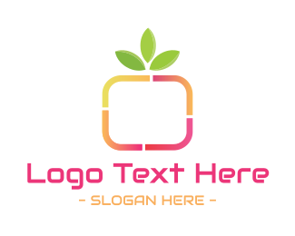 Tagline - Nature Media logo design