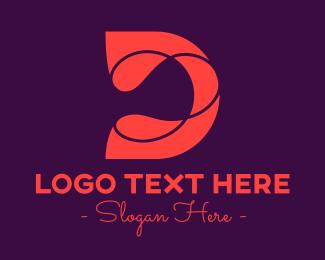Jagged - Modern Letter D Lines logo design