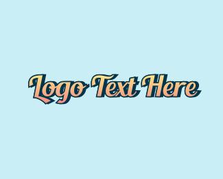 Word - Vintage Script Wordmark  logo design