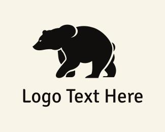 Vintage - Strong Bear logo design