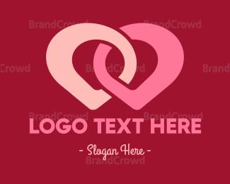 Chain - Point Duo logo design