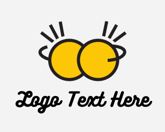 Hug - Two Bright Coins logo design