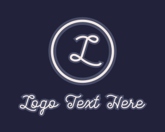 Calligraphy - Calligraphy Stationery Lettermark logo design