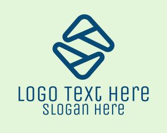 Startup - Blue Boomerang Startup  logo design