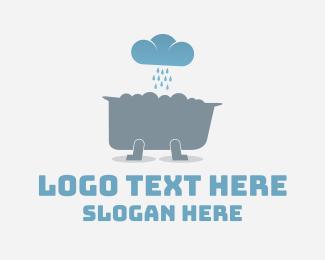 Bath - Weather Tub logo design