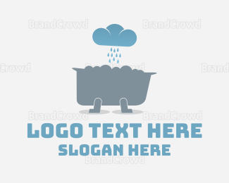 Pool - Weather Tub logo design