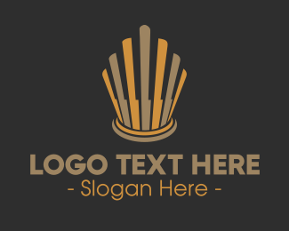 Crown - Elegant Crown logo design