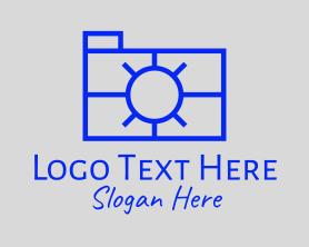 Camera - Minimalist Photography Camera logo design