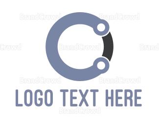 Core - Round Letter C logo design
