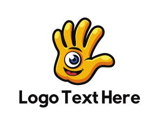 Hand - Hand Character logo design