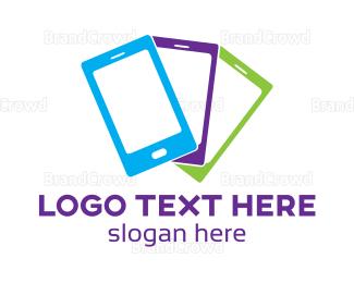 Mobile Phone - Colorful Mobile Phone logo design