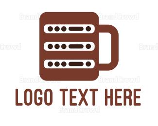Coffee Mug - Coffee Server logo design