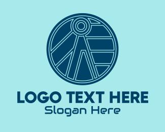 Apps - Tech Letter A  logo design