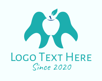 Tooth Whitening - Apple Tooth Care logo design