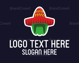 Chili - Mexican Moustache logo design