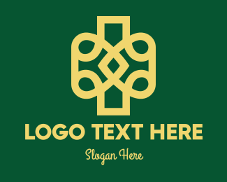 Intricate - Abstract Decor Emblem logo design