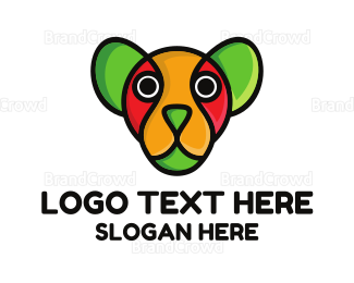 Dachshund - Colorful Watchdog logo design