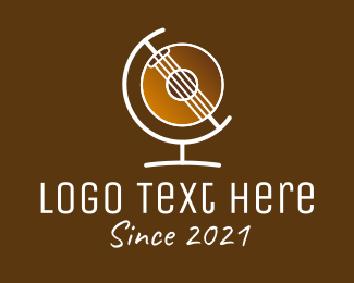 Acoustic - Global Acoustic Band logo design