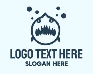 Shark - Black Shark  logo design