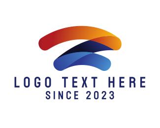 Lettermark Z - Modern Agency Letter Z logo design