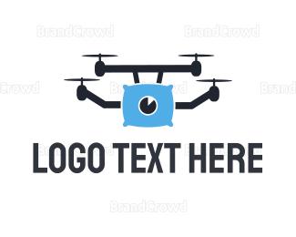 Dating - Pillow Drone logo design