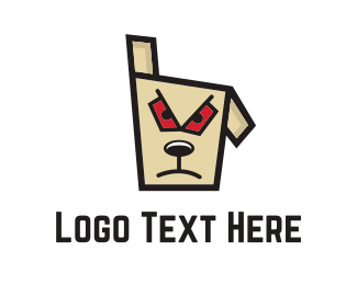 Evil - Bad Dog logo design