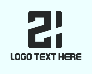 Black Game 21 Logo